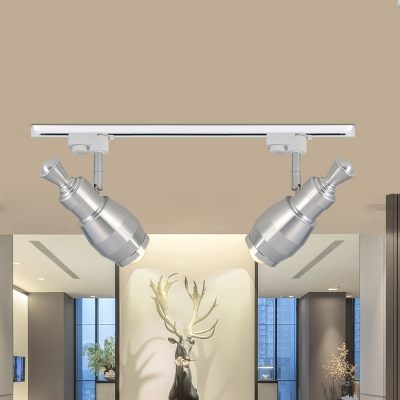 Aluminum Rotatable Led Spot Light Showroom Stage 2 3 4 Lights Modern