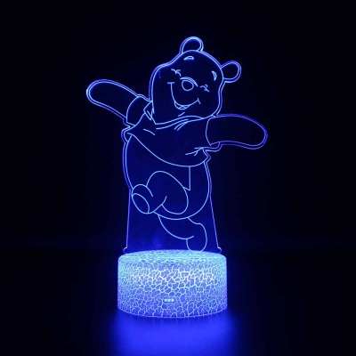 Cartoon Bear Pattern Night Light 7