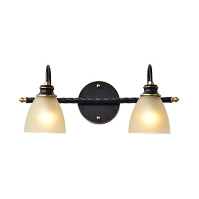 Frosted Gl Dome Wall Light 2 3