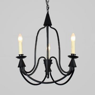 Candle Shape Pendant Lighting Metal