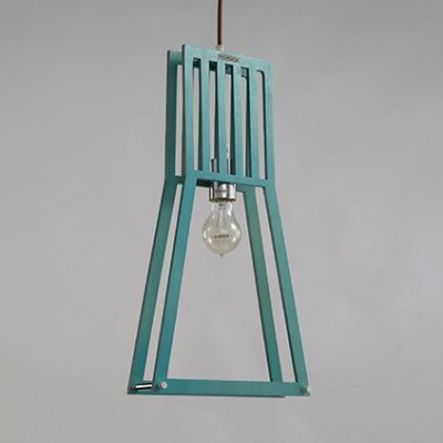 Living Room Foyer Pendant Light with Shade Rattan Single Light Industrial Style Ceiling Light