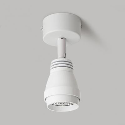 (2 Pack)Black/White Wireless Ceiling Fixture Angel Adjustable High Brightness LED Spot Light in White for Kitchen