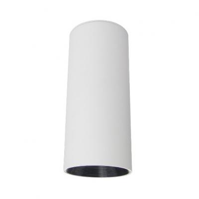 (6 Pack)Black/White LED Spot Light High Brightness Cylinder Ceiling Light in White/Warm for Kitchen Foyer