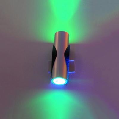 2/4/6 Heads High Brightness Spot Light Cylinder Wireless Aluminum LED Wall Lamp for Bar Restaurant