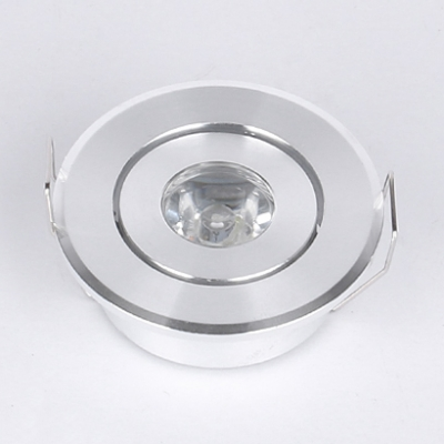 (12 Pack)Aluminum Bedroom Foyer Recessed Light 3W Angle Adjustable LED Light Fixture Recessed