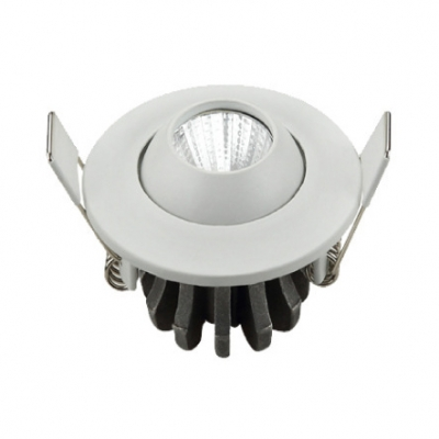 3W LED Light Fixture Office Dining Room Pack of 10 Wireless Flush Mount Recessed in White