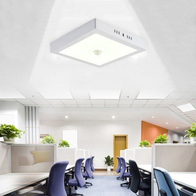 4 Pack Wireless Square Light Fixture 6W 5 Inch LED Slim Panel Spot Light for Dining Room Hallway