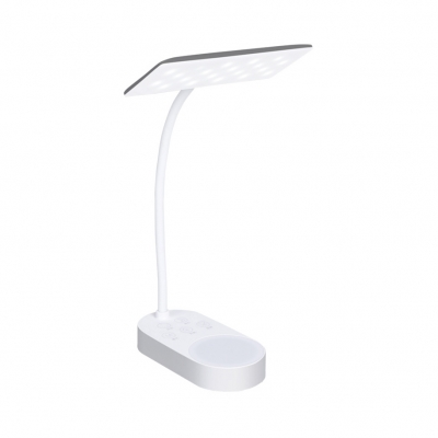 Touch Sensor LED Desk Lighting Eye Caring USB Charging Port Study Light with 5 Keys in White/Warm