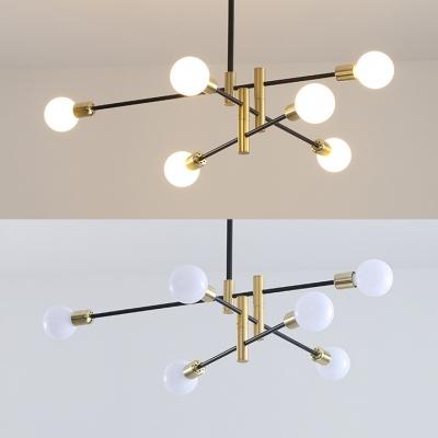 Modern Style Led Lighting Modo Ceiling Flush Mount Light for Bedroom Living Room in Gold Finish