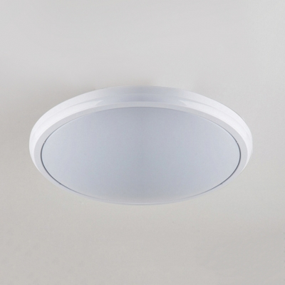 Acrylic Circle LED Ceiling Lamp Bathroom Waterproof Flush Mount Light