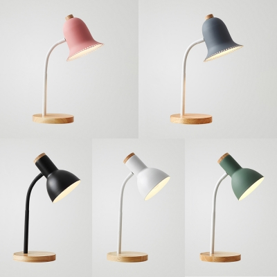 1 Light Bell Dome Reading, Colorful Desk Lamps