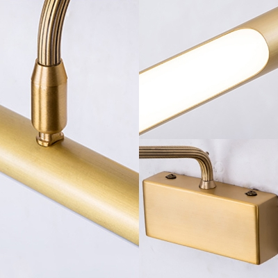 Gallery Linear LED Picture Light Acrylic 17/22 Inch Modern Waterproof Wall Light in Neutral