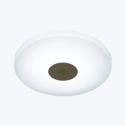 Acrylic Square/Round Ceiling Light Hallway 12W Dusk to Dawn Sensor LED Wall Light in White