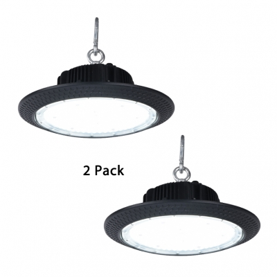 Aluminum Slim UFO LED Bay Lighting Supermarket Factory 1/2 Pack High Brightness 150W Pendant Light