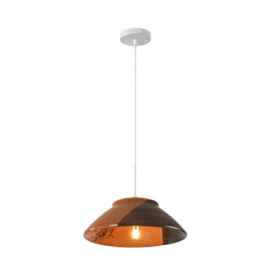 Dining Table Bowl Shade Pendant Light Ceramics 1 Lights Asian Stylish Hanging Light