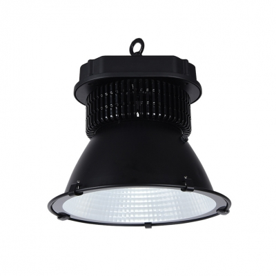 150/200W Black LED Bay Lighting 1 Head Aluminum Long Life Hanging Lamp for Stadium Showroom
