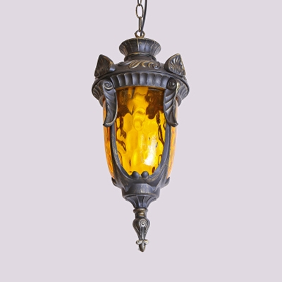 1/5 Pack Restaurant Hanging Light Dimple Glass 1 Light Vintage Style Ceiling Pendant(not Specified We will be Random Shipments)