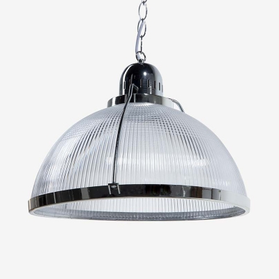 Dome Shade Supermarket Pendant Light Acrylic 1 Light Industrial Multi Color Choice Ceiling Lamp
