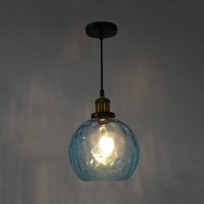 Orb Shade Hallway Pendant Light