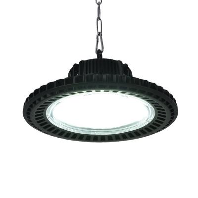 Aluminum Slim UFO Bay Lighting 1/2 Pack 150W Commercial High Brightness LED Pendant Lamp for Workshop Garage