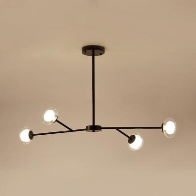 Branch Chandelier Light 4 Lights Metal