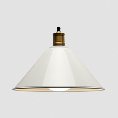 Nordic Style Macaron Color Pendant Light Cone Shade 1 Light Metal Hanging Light for Kitchen