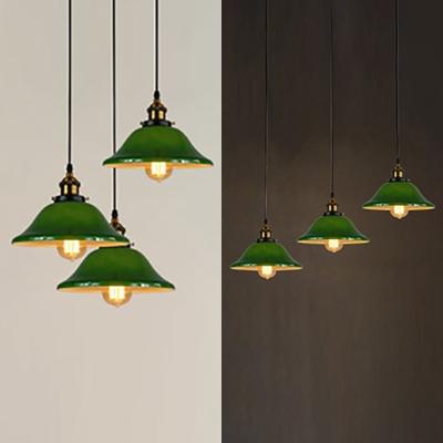 Vintage Style Bell Shade Pendant Light