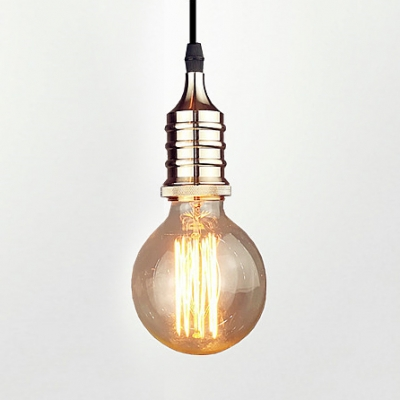 Simple Style Edison Bulb Hanging Light