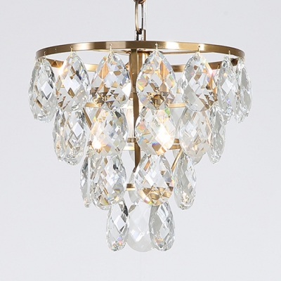 Gold Grape Shaped Suspension Light 1