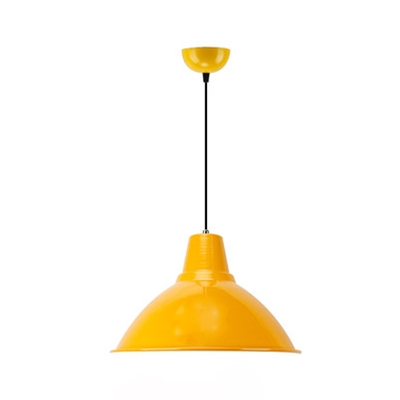 Aluminum Funnel Pendant Light Factory Dining Table One Light Industrial Pendant Lamp