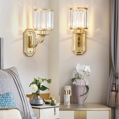 Metal Fake Candle Wall Light Kitchen 1 Lights Contemporary Sconce