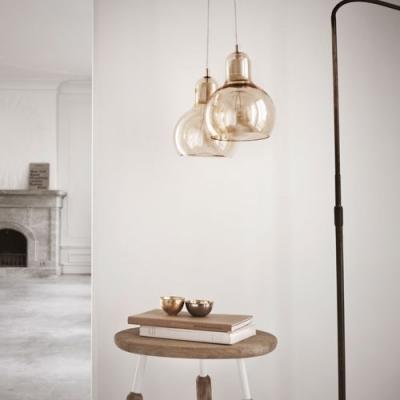 Mini Bowl Classic Glass Charming Designer Pendant Lighting Clear