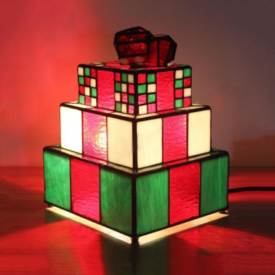 Stained Glass Gift/Horse Table Light Tiffany Lovely Night Light for Kid Gift Home Deco
