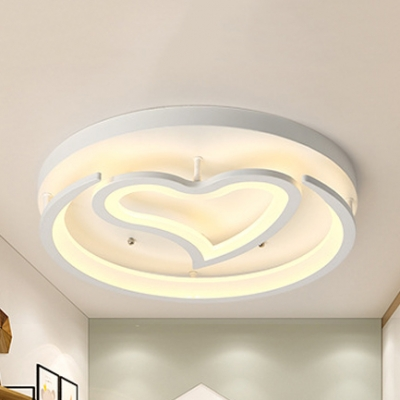 Bedroom Ceiling Lamp Acrylic Modern Led