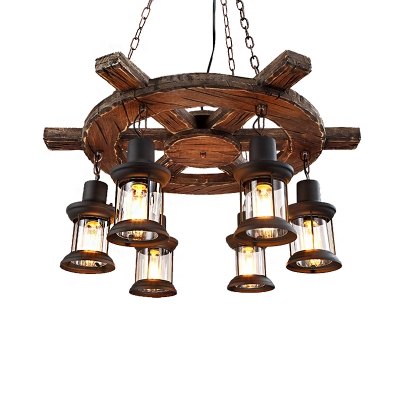 Hanging Ceiling Lights Nautical Wood