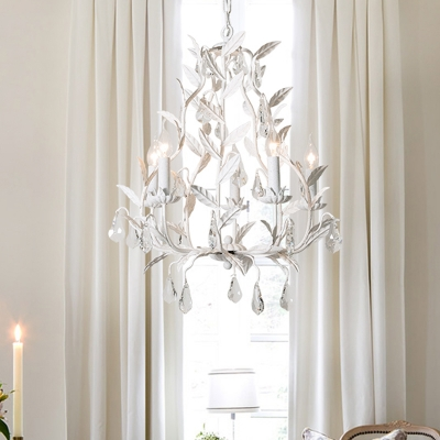 Metal Candle Hanging Ceiling Light