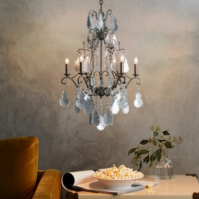Crystal Chandelier Lighting With Candle