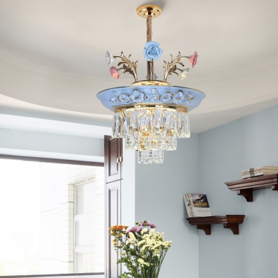 Flower Pendant Lighting French Country