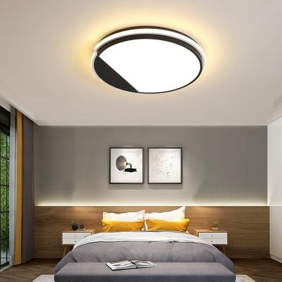 Acrylic Round Flush Light Modern Simple Led Bedroom Flush Ceiling