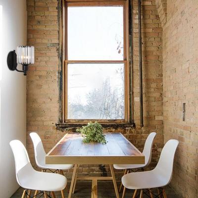 Modern Crystal Sconce Light Metal Single Light Wall Sconce Light Fixture for Corridor