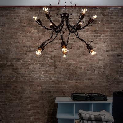 Unique Chandelier Light Fixture Retro