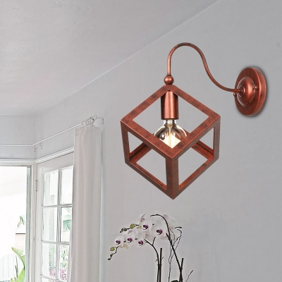 Bell Shape Sconce Wall Lighting Industrial Retro Metal Single Light Wall Sconce Lights for Foyer, HL559694, Black;rust