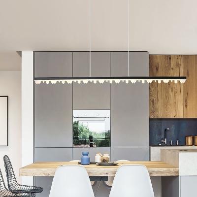 Linear Pendant Lighting Contemporary