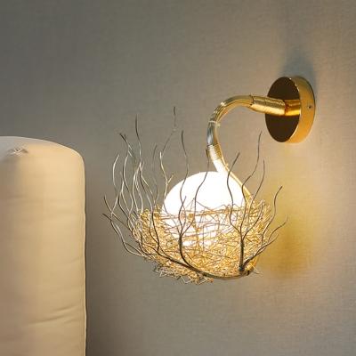 8 5 10 W Metal Nest Wall Sconce Lighting Modern Decorative Led