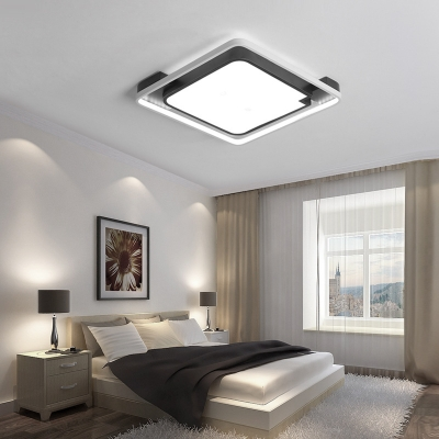16 19 5 unique bedroom lighting fixture contemporary 1 head round square ceiling light fixture for bedroom