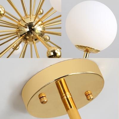 Mid Century Modern Sputnik Chandelier Light Metal 11/12/18 Lights 23.5