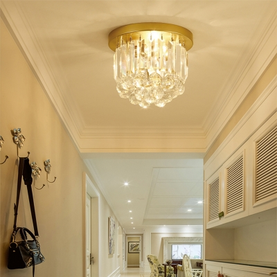 Gold Crystal Ball Ceiling Lights Modern