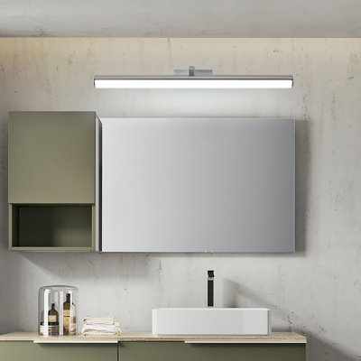 Metal Cylinder Wall Light Fixture With Diffuser Integrated Led Modern Vanity Mirror Light For Bathroom Beautifulhalo Com
