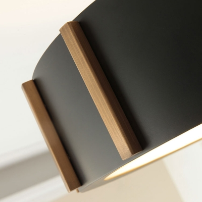 Black LED Drop Pendant 14