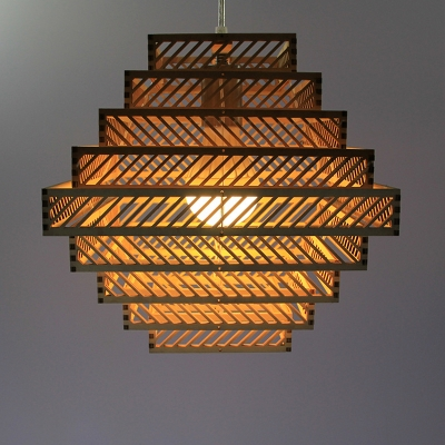 1 Bulb Tiered Hanging Ceiling Light